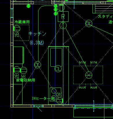 見積もり用の電気図を作成。