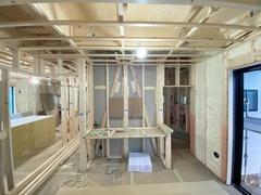 NewStyle玉川学園4丁目、木工事進行中です!