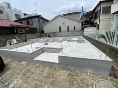 OTO邸、基礎工事完了!