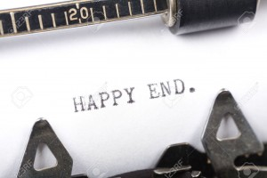 2529261-Typewriter-close-up-shot-concept-of-Happy-end-Stock-Photo