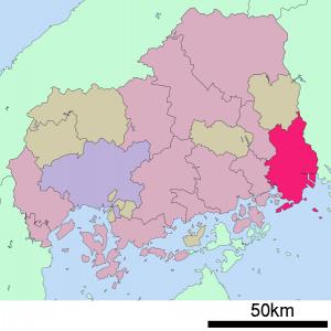 福山市 基礎自治体位置図_34207